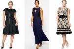 14 праздничных платьев для полных женщин
