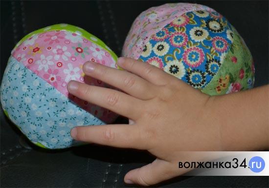 Мягкий мячик игрушка своими руками