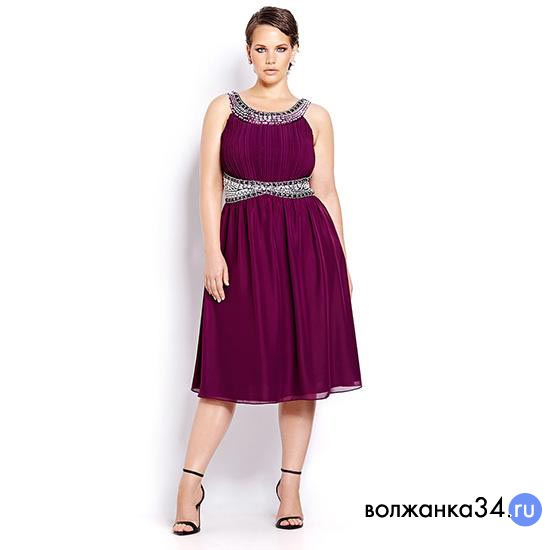 Рубиновое платье в греческом стиле