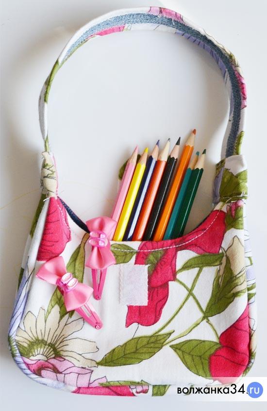 4537b48e5700 Сумочка для девочки своими руками. Для пошива маленькой детской сумочки ...