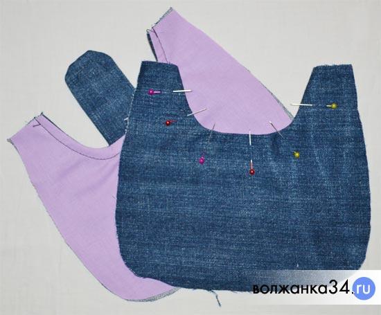 90774eb2ebd5 Шьем детскую сумочку для девочки: мк с выкройкой
