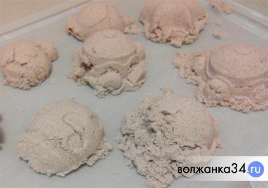 Формочки из кинетического песка