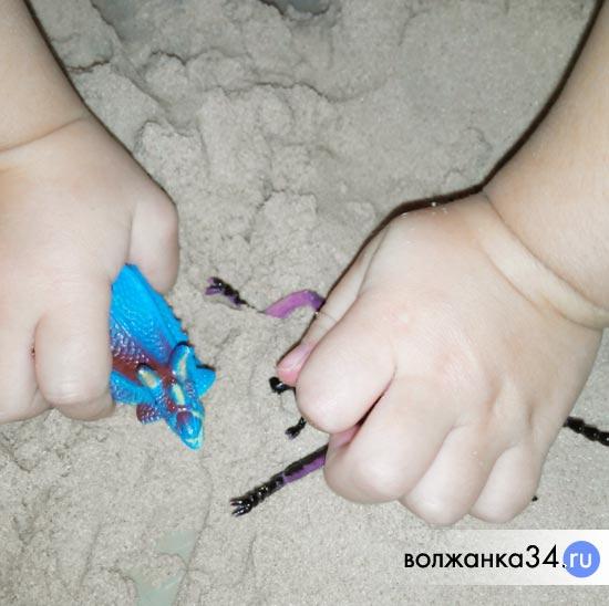 Ролевые игры с песком
