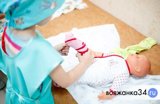 Уход за малышом